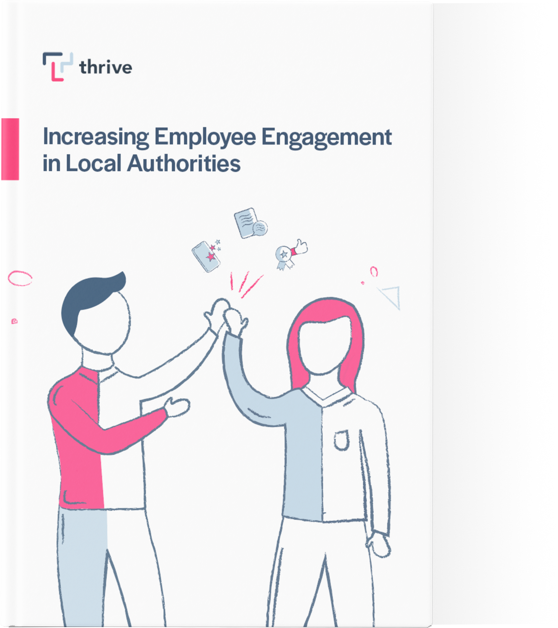 Thrive's eGuide on increasing employee engagement across local authorities